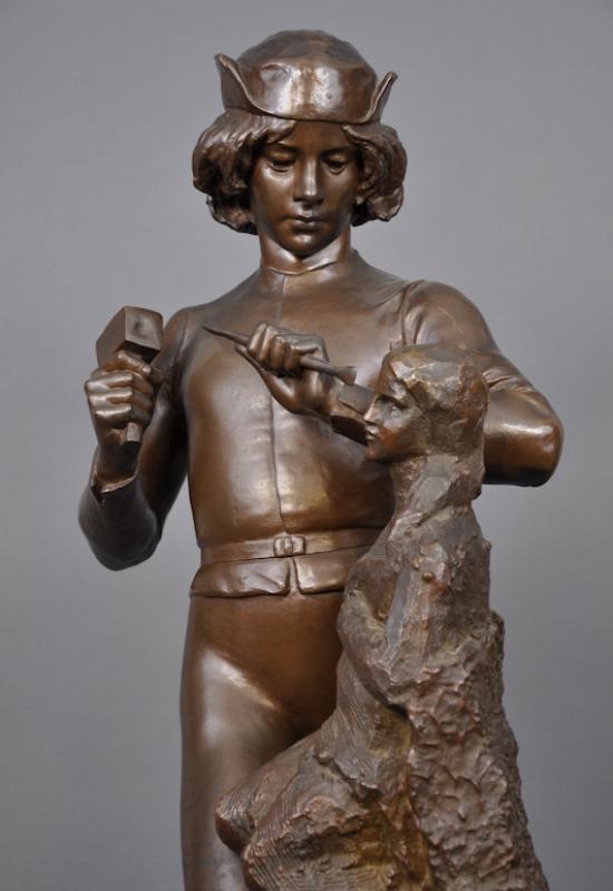 Être sculpteur au XIX<SUP>e</SUP> siècle