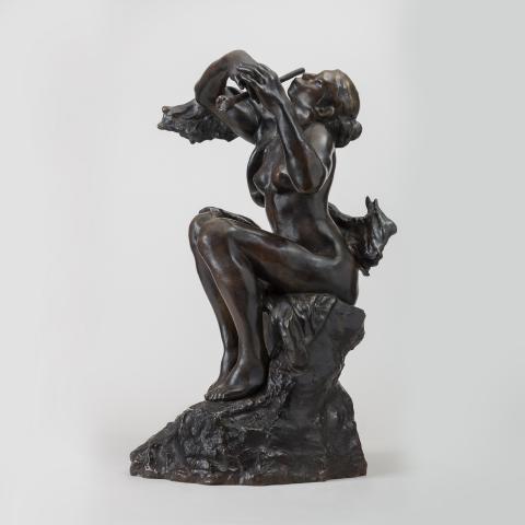 La Sirène ou La Joueuse de flûte, vers 1905