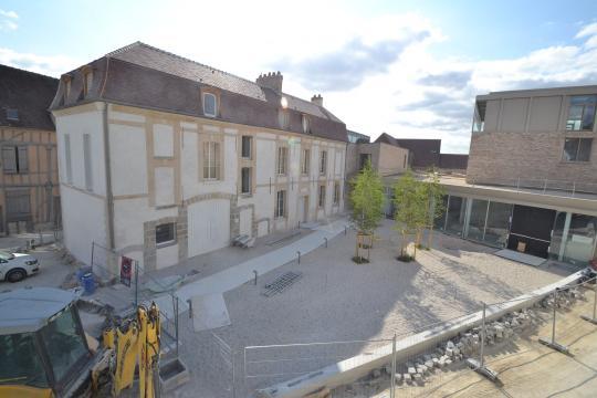 Le musée Camille Claudel en juillet 2015.