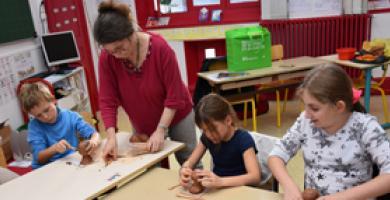 Ateliers de pratique artistique jeune public